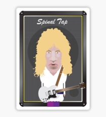 This Is Spinal Tap. David St. Hubbins. Sticker