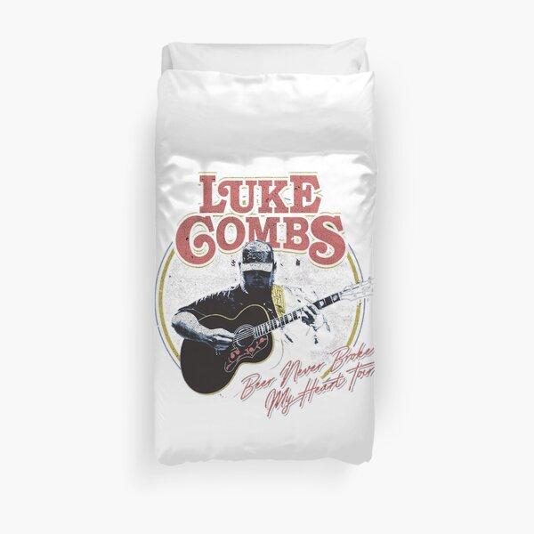 sekarang beer never luke combs my heart Duvet Cover