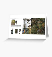 Gallerie spread  Greeting Card