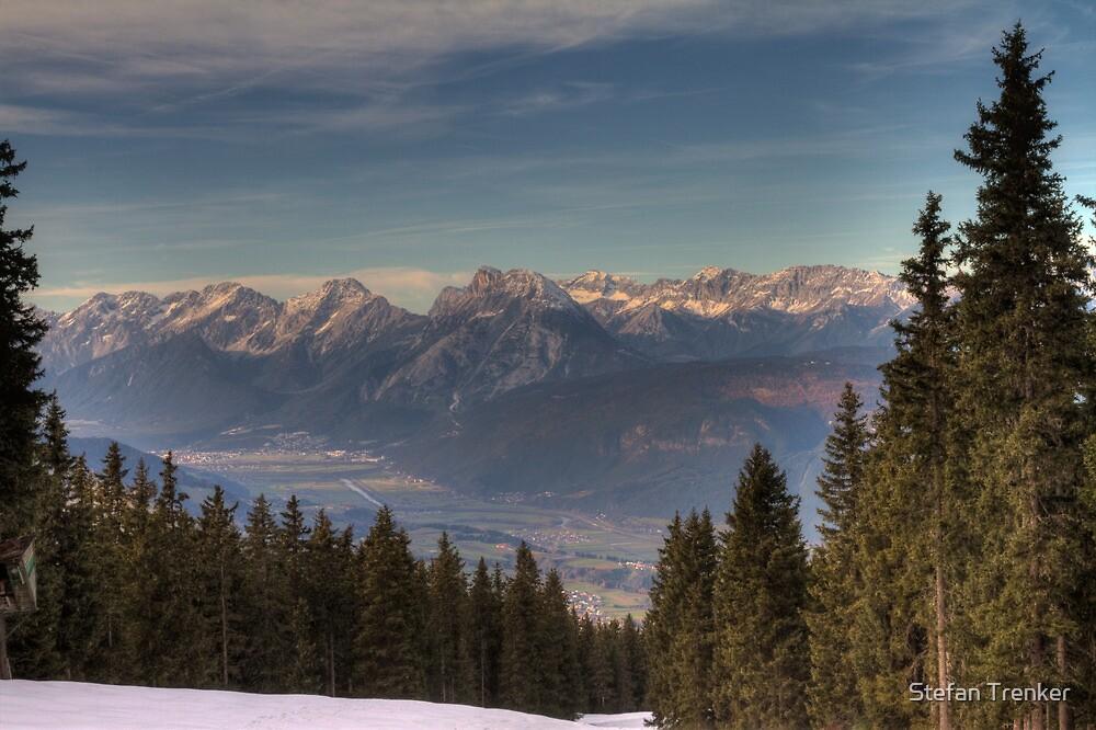 Mountains, straight ahead by Stefan Trenker