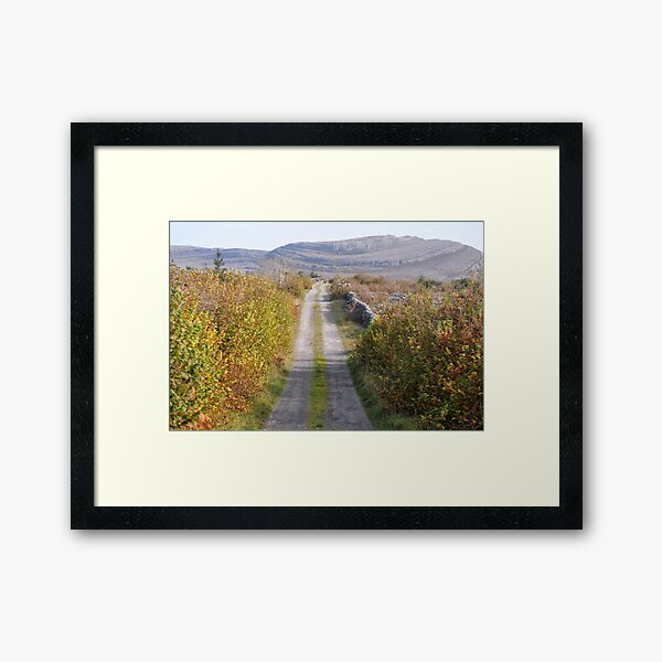 Mullaghmore in Autumn Framed Art Print