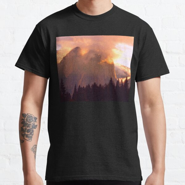 CATHEDRAL ROCKS ON FIRE Classic T-Shirt