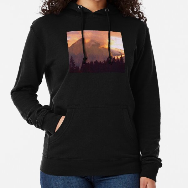CATHEDRAL ROCKS ON FIRE Lightweight Hoodie