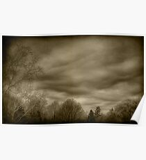 The Textured Sky Poster