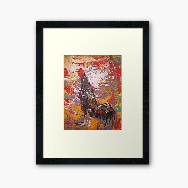 Illustration Rooster Art Framed Art Print