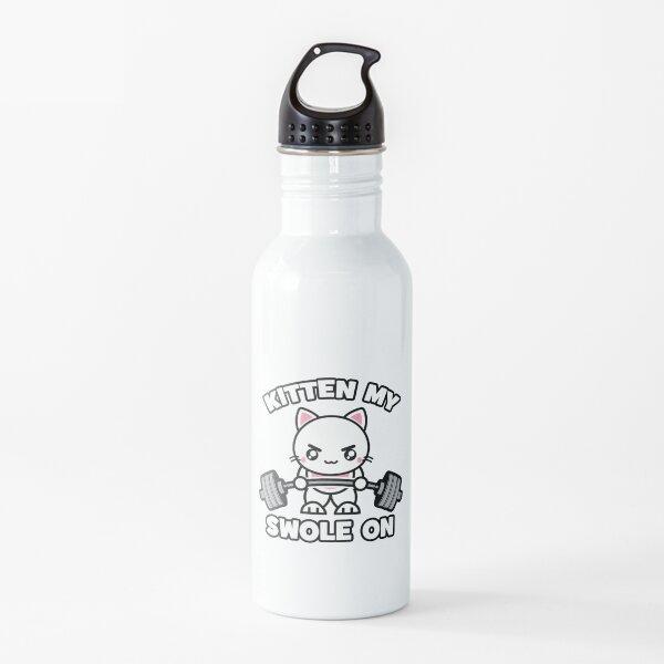 Gatito My Swole One - Gato de gimnasio Botella de agua