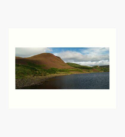 Loch An Lossgainn Mor Art Print