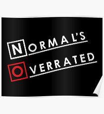 Normal is Overrated Poster