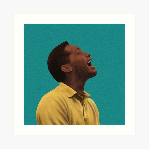 Sam Cooke Singing Art Print