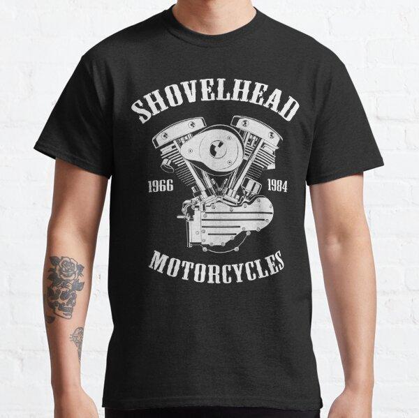 Motos Harley Shovelhead Camiseta clásica