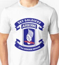 Insignia of the 173rd Special Forces Airborne Brigade! Unisex T-Shirt