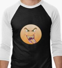 The Naughty One Is After You Men's Baseball ¾ T-Shirt