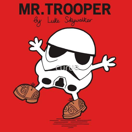 TShirtGifter presents: Mr Trooper