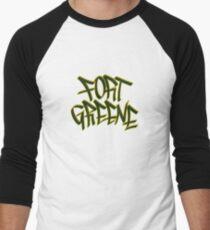 Fort Greene Baseball ¾ Sleeve T-Shirt