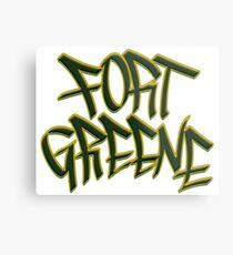 Fort Greene Metal Print