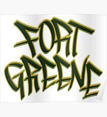 Fort Greene Poster
