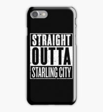 Straight Outta Starling City iPhone Case/Skin