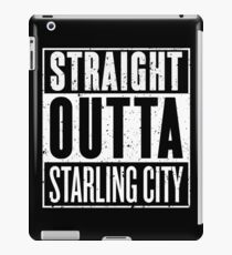 Straight Outta Starling City iPad Case/Skin