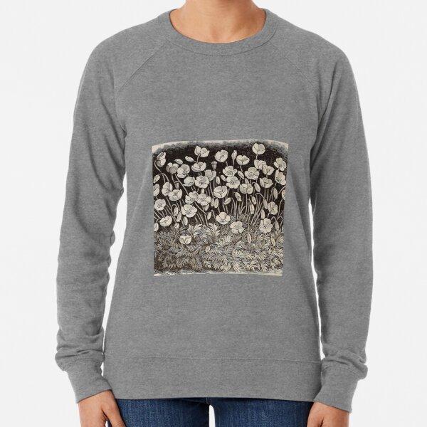 White Poppy Lightweight Sweatshirt