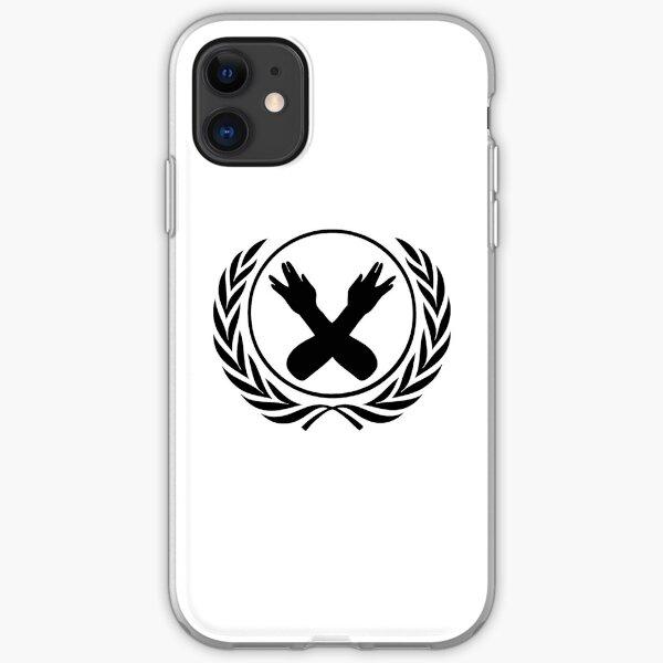 Nerdfighter Logo - White iPhone Soft Case