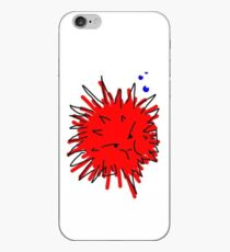 angry puffer iPhone Case