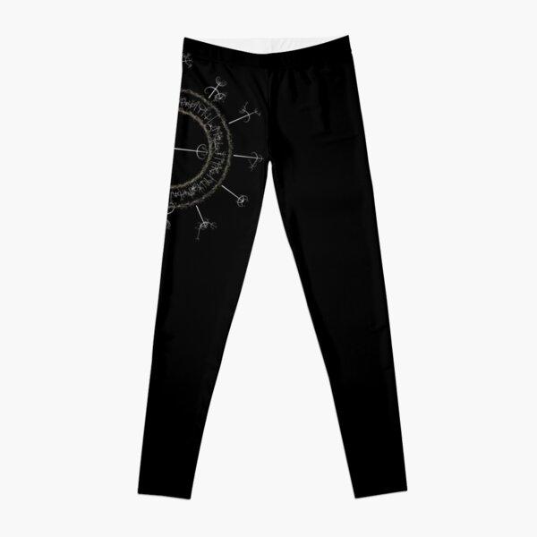 #DarkArts, #vortex, #illustration, #abstract, design, element, science, creativity Leggings