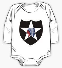 Logo of the Second Infantry Division, U. S. Army Kids Clothes