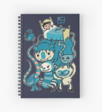 The Beasties Under My Bed Spiral Notebook