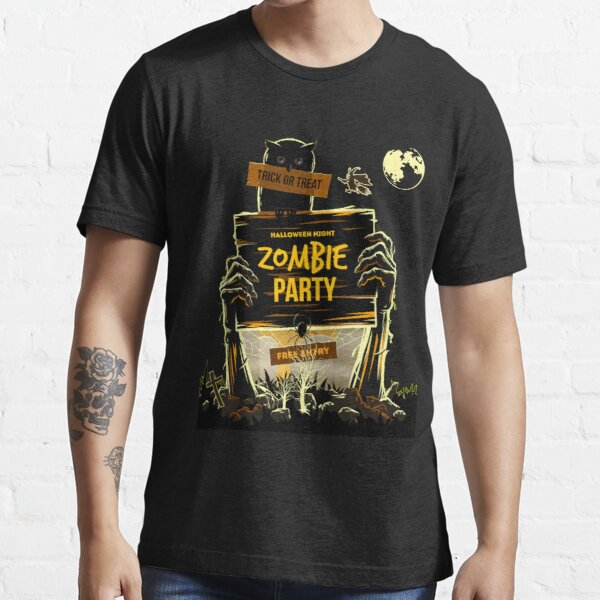 Halloween Night Zombie Party Essential T-Shirt