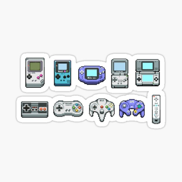 Contrôleurs et appareils de jeu Sticker