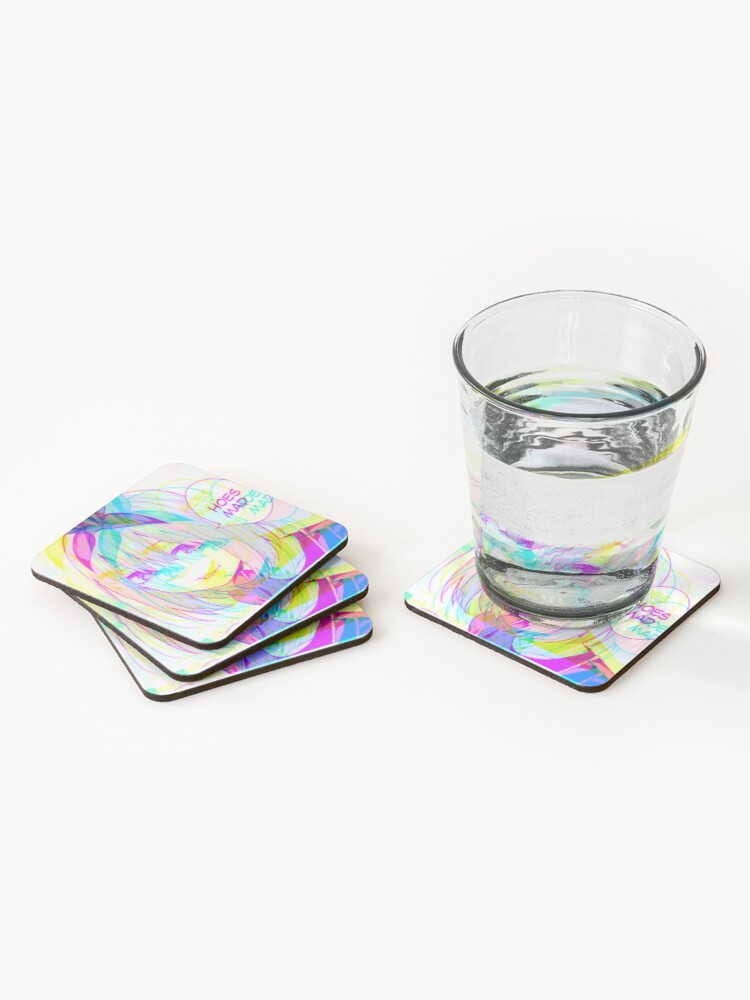 Alternate view of they still mad Coasters (Set of 4)