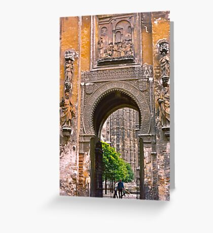 Seville Cathedral II Greeting Card