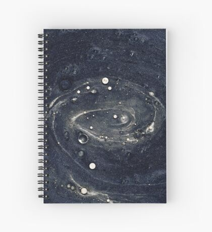 Galaxy Mix Spiral Notebook