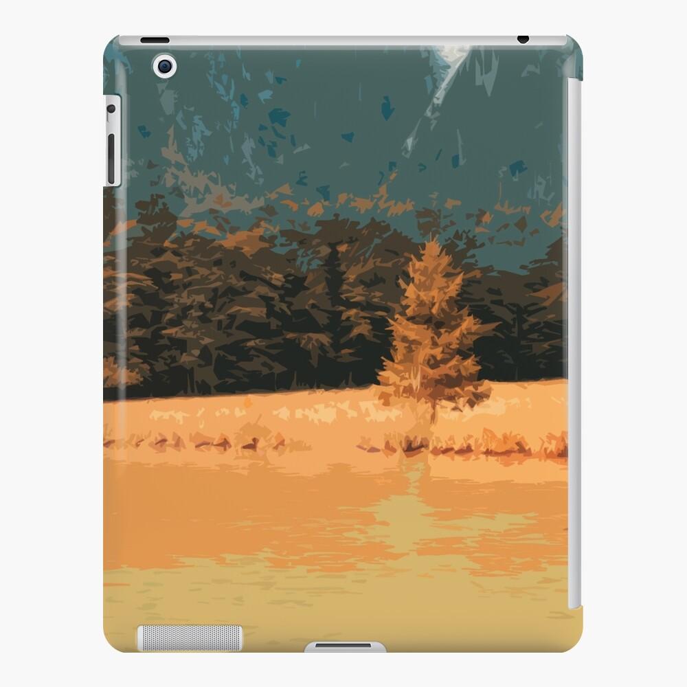 Orange Landschaft Königssee Germany iPad-Hülle & Skin