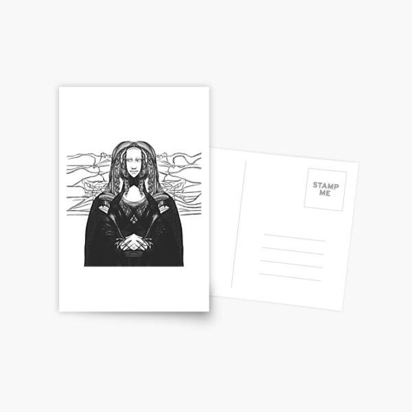 Mona Lisa 86 Postcard