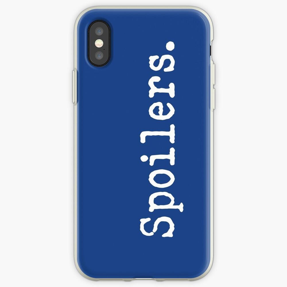 Spoiler iPhone-Hüllen & Cover