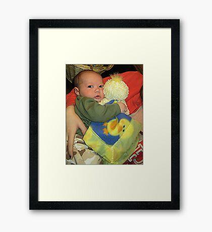 Love My Duckie Framed Print