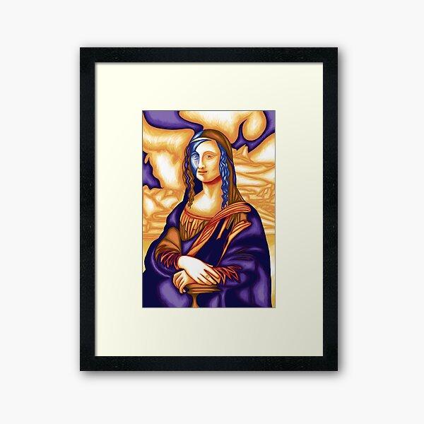 Mona Lisa 88 Framed Art Print