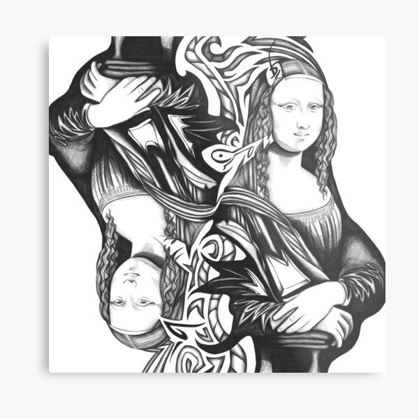 Mona Lisa 92 Metal Print
