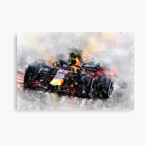 Max Verstappen F1 Impression sur toile