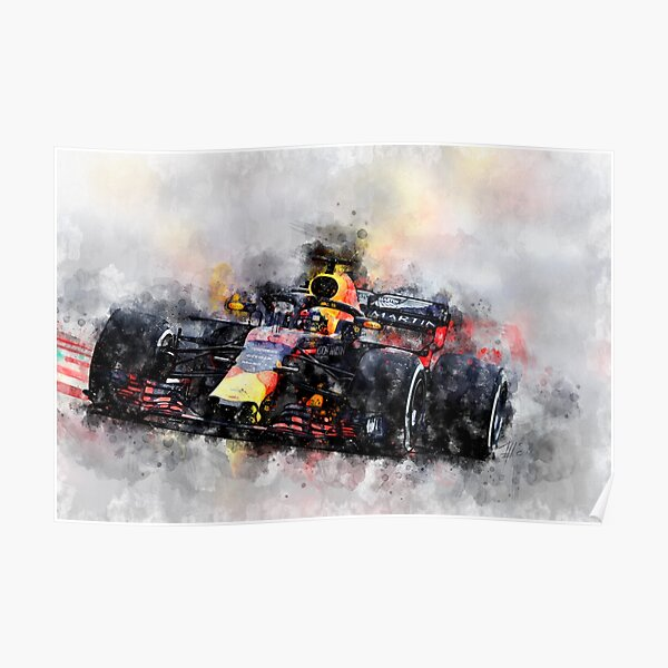 Max Verstappen F1 Póster