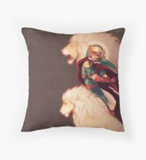 Prince of Lions Throw Pillow