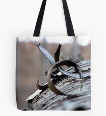The Wooden Curl Tote Bag