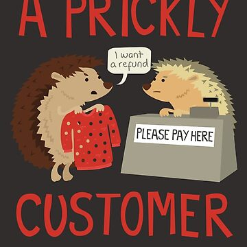 A Prickly Customer de jaffajam