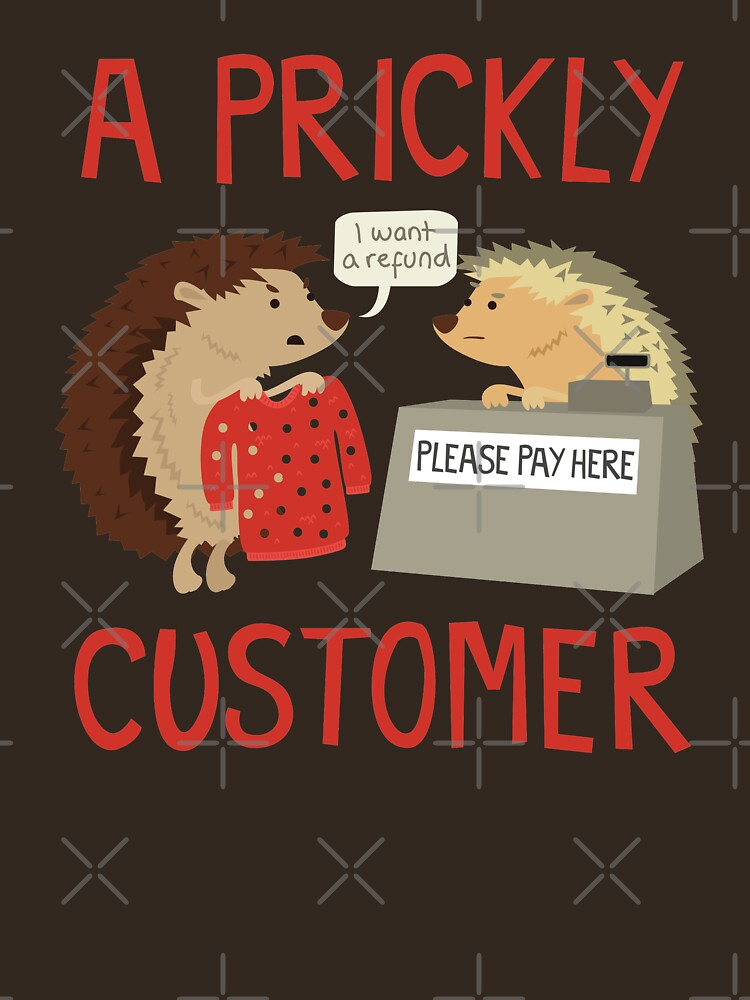A Prickly Customer | Unisex T-Shirt