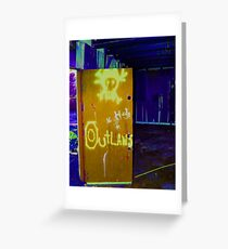 outlaws Greeting Card