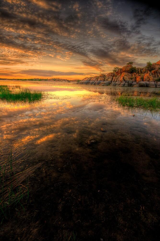 Sunset Calm 2 by Bob Larson