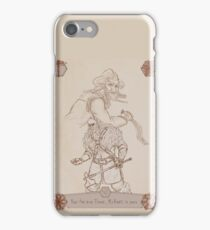 Axes and Knives iPhone Case/Skin