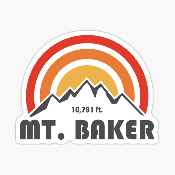 Mt. Baker Sticker