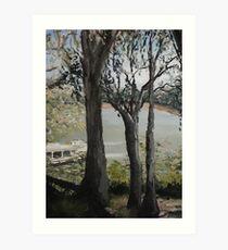Murray river 2 Art Print